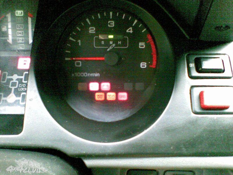 kontrolky v auto