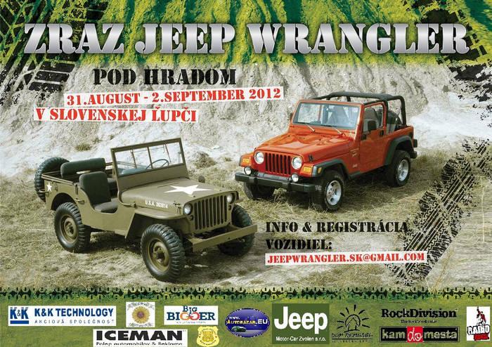 Jeep Wrangler Zraz 2012